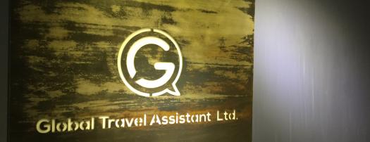 GTA Taipei Office Sign